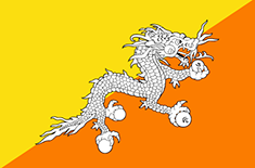 country Bhutan (Ost)